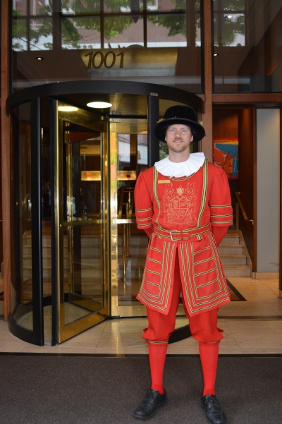 Heathman Hotel doorman