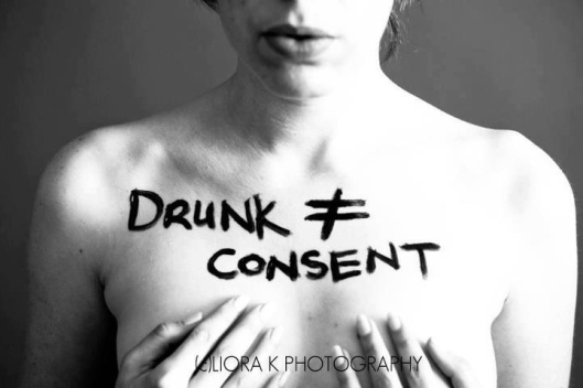 Drunk doesn't equal consent