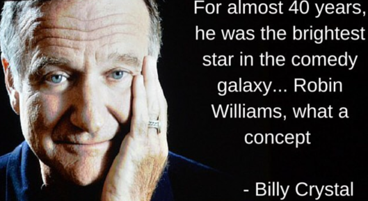 Billy Crystal on Robin Williams