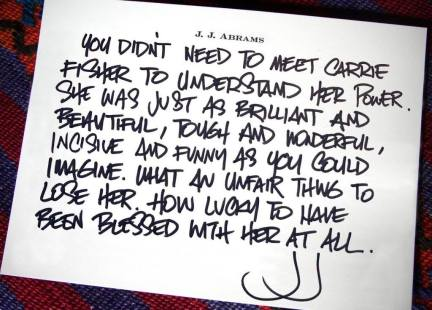 director-j-j-abrams-note-about-carrie-fisher